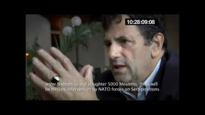 ehem.Polizei-Chef von Srebrenica über Iteztbegovic's Frage - wie mit US-präs. Clintons Vorschlag umgehen-ein Massaker an 5000 Muslims zu machen um gagnz Bosnien bombardieren zu können2