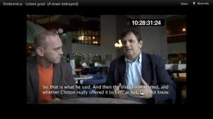 ehem.Polizei-Chef von Srebrenica über Iteztbegovic's Frage - wie mit US-präs. Clintons Vorschlag umgehen-ein Massaker an 5000 Muslims zu machen um gagnz Bosnien bombardieren zu können4